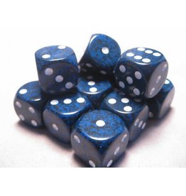 Chessex CHX25746 16mm d6 Speckled Stealth