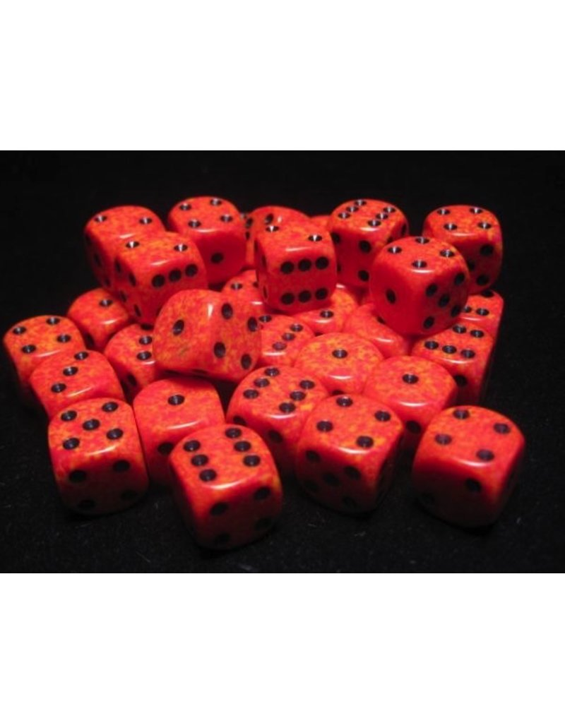 Chessex CHX25903 12mm d6 Speckled Fire