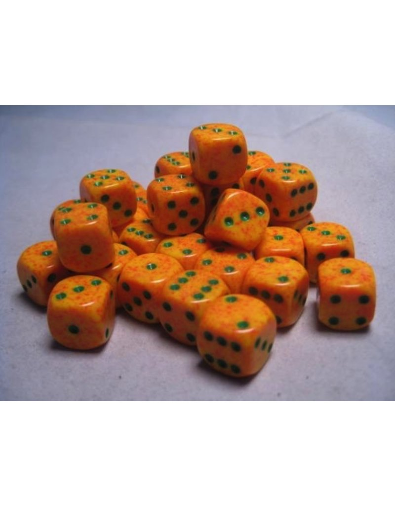 Chessex CHX25912 12mm d6 Speckled Lotus