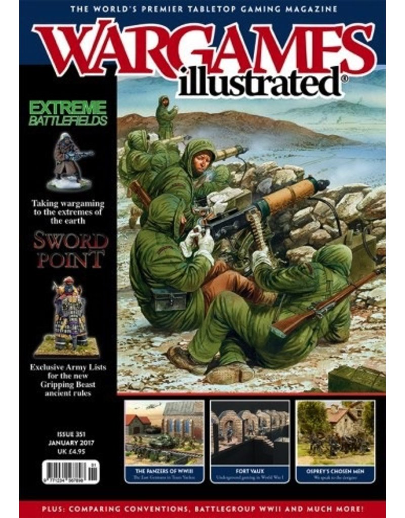 Wargames Illustrated Wargames Illustrated: Issue 351: January 2017