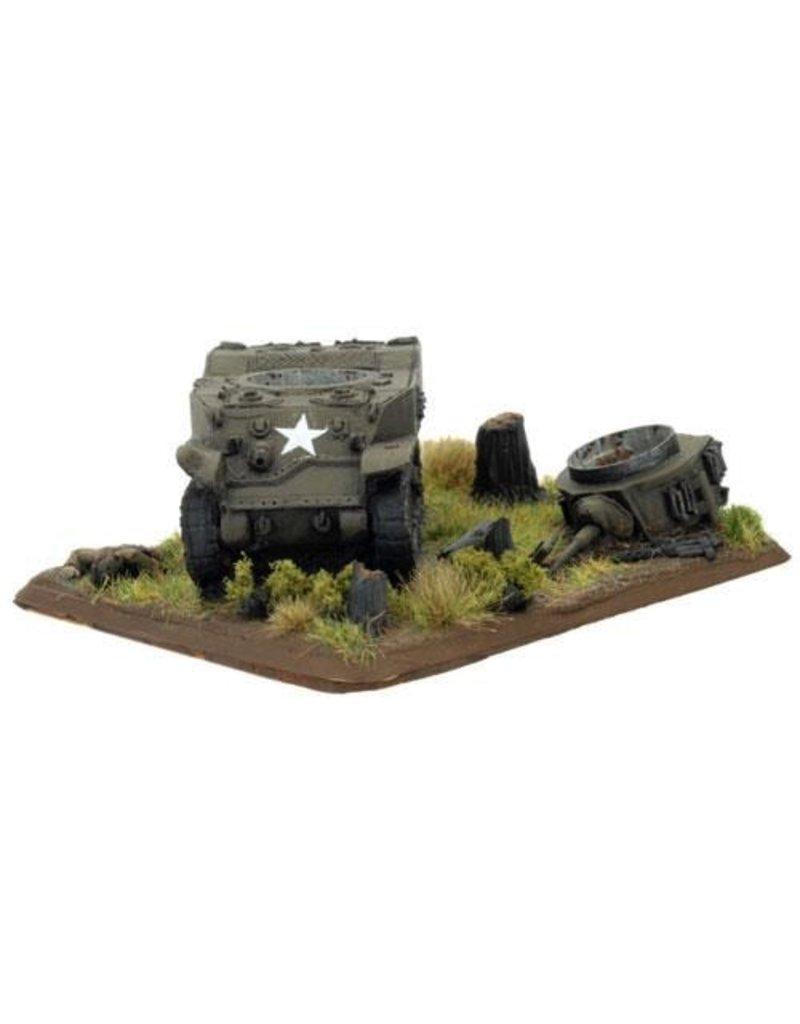 Flames of War XX523 Destroyed Stuart
