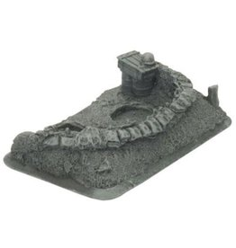 Flames of War XX319 DIRECT German 105mm Staff Base