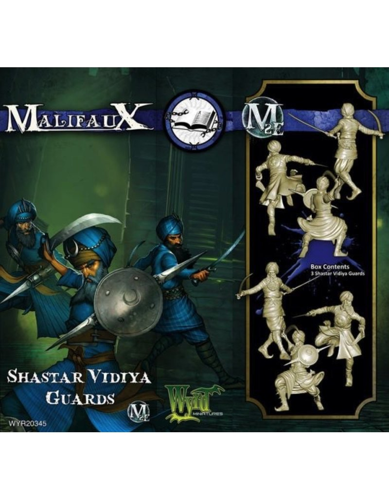 Wyrd miniatures WYR20345 Arcanists: Shastar Vidiya Guards