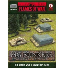 Flames of War XBX02 Machine Gun Bunkers