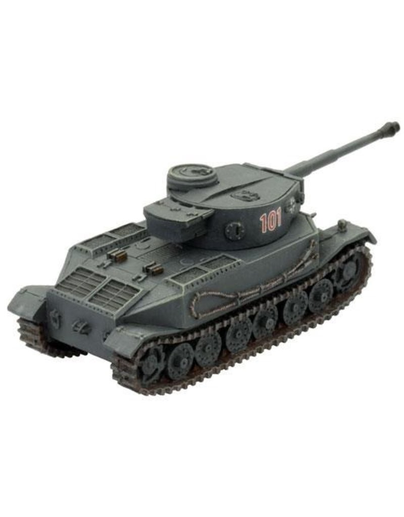 Flames of War GE076 Tiger (P)