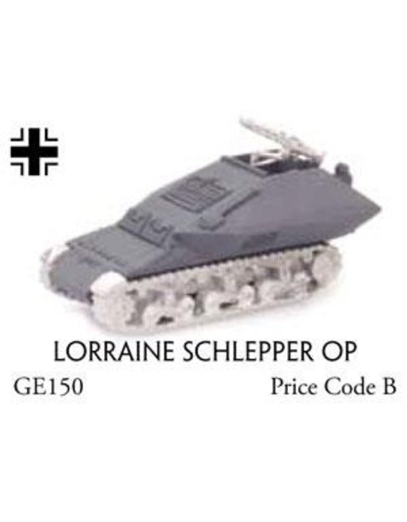 Flames of War GE150 Lorraine Schlepper OP