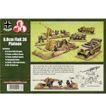 Flames of War GBX11 8.8cm FlaK36 Battery
