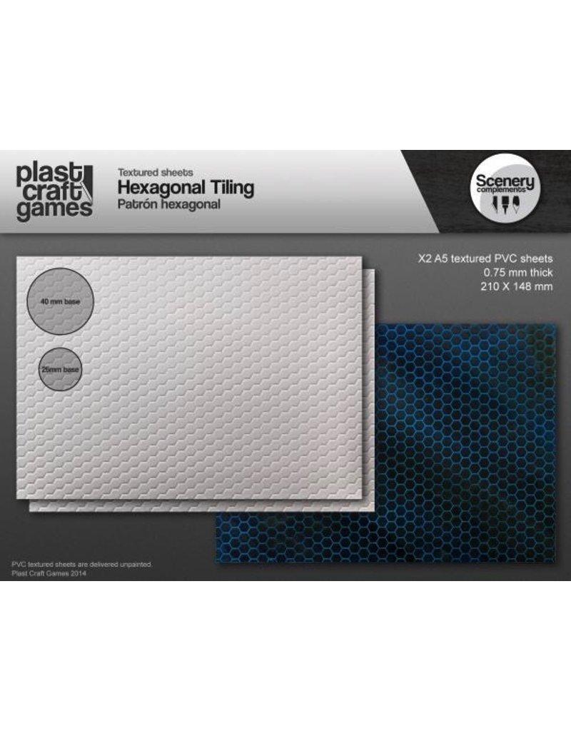 Plast Craft 28mm Scenery Compliments: Hexagonal Tiling