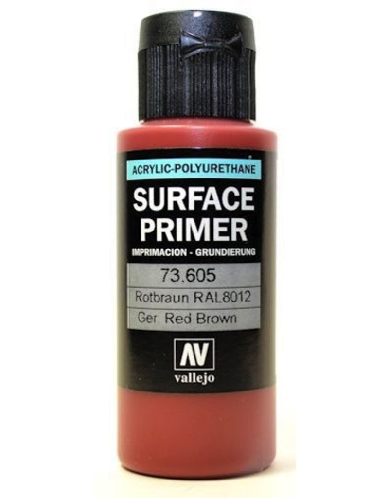 Vallejo VAL73605 Primer German Red Brown