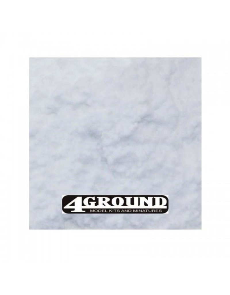 4Ground Miniatures Miniature Basing: Snow