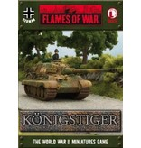 Flames of War GBX14 German Tank Aces Konigstiger