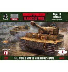 Flames of War GBX15 German Tiger I E Platoon