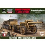 Flames of War GBX20 Heavy Artillery Battery