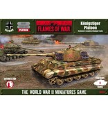 Flames of War GBX30 German Konigstiger Platoon