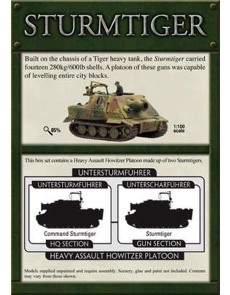 Flames of War GBX31 German Sturmtigers