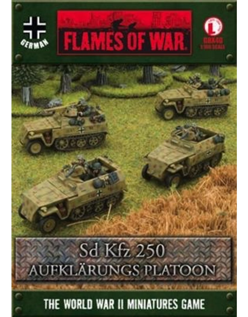 Flames of War GBX40 German Aufklarungs Platoon
