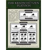 Flames of War GBX49 German DAK Kradschutzen Platoon