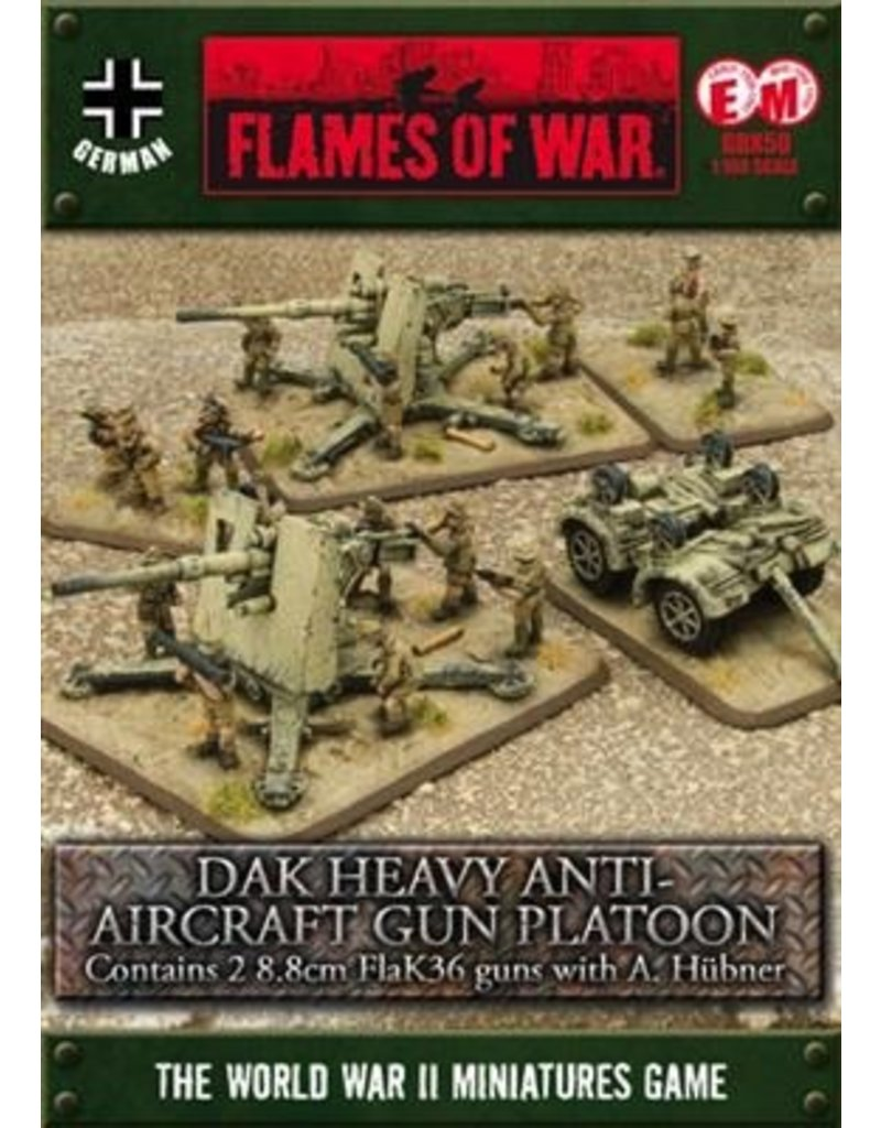 Flames of War GBX50 Hubner's 88 Battery