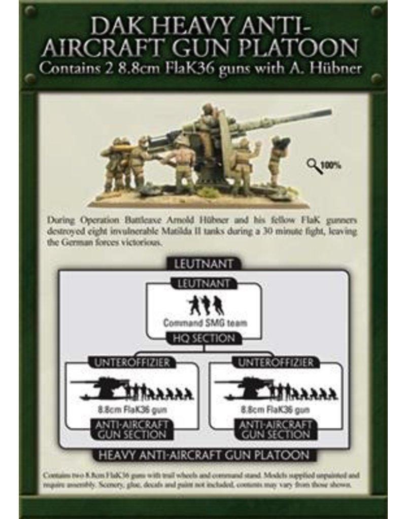 Flames of War GBX50 Hubner's 88 Battery