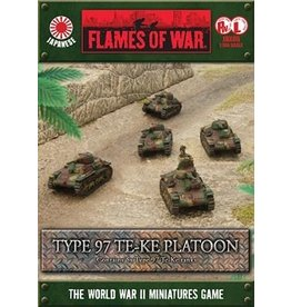 Flames of War JBX05 Type 97 Te-Ke Platoon