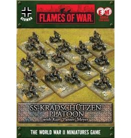 Flames of War GBX54 SS-Kradschützen Platoon with Kurt Meyer