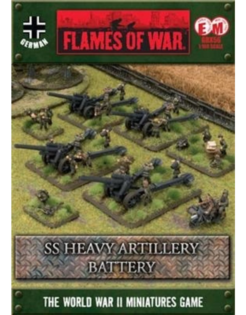 Flames of War GBX56 SS Heavy Artillery Battery