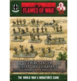 Flames of War GBX59 GebirgsjŠger Infantry Company