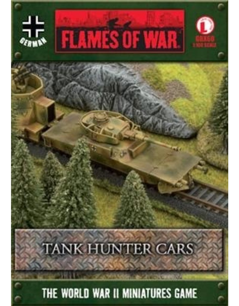 Flames of War GBX60 Tank Hunter Cars
