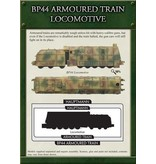 Flames of War GBX62 BP44 Armoured Train Locomotive