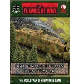 Flames of War GBX64 BP44 Armoured Train Infantry Car