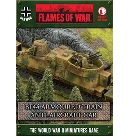 Flames of War GBX65 BP44 Armoured Train Anti-aircraft Car