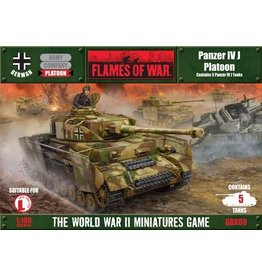 Flames of War GBX68 Panzer IVJ Platoon