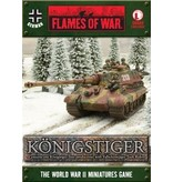 Flames of War GBX69 Königstiger (Non-Zimmerit) with FJ Tank Riders