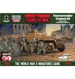 Flames of War GBX75 Panzergrenadier Company HQ (Plastic)