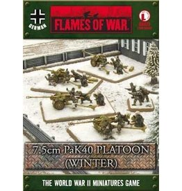 Flames of War GBX73 7.5cm PaK 40 Platoon (Winter)