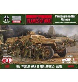 Flames of War GBX76 Panzergrenadier Platoon (plastic)