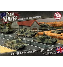 Team Yankee TBBX01 Chieftan Armoured Troop (Plastic)