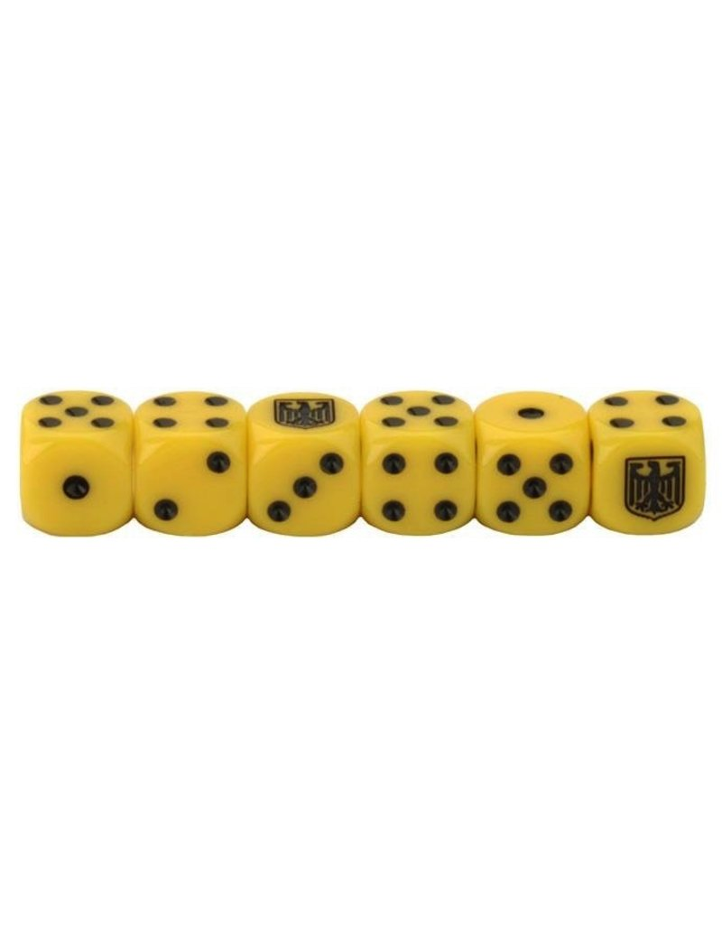 Team Yankee TGR900 West German Dice Set