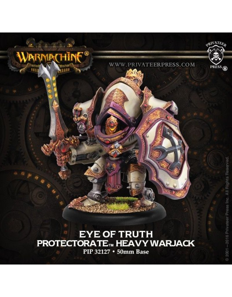 Warmachine Hordes\ PIP32127 Protectorate: Eye of Truth Character Heavy Warjack