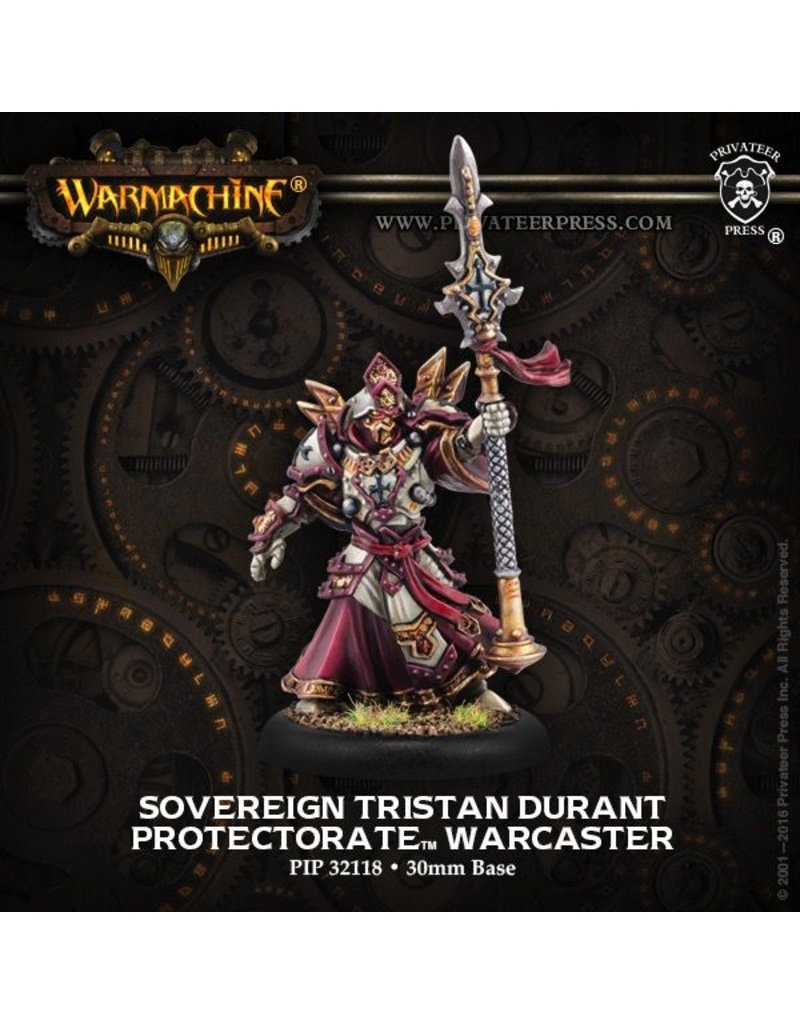 Warmachine Hordes\ PIP32118 Protectorate: Sovereign Tristan Durant Warcaster