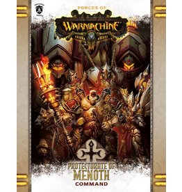 Warmachine Hordes\ PIP1084 Forces of Warmachine: Protectorate of Menoth Command Soft Cover Rulebook