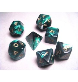 Mystic Keeper Mystic Keeper Gaming Dice: Soulcage Green Polyhedral Set (7)
