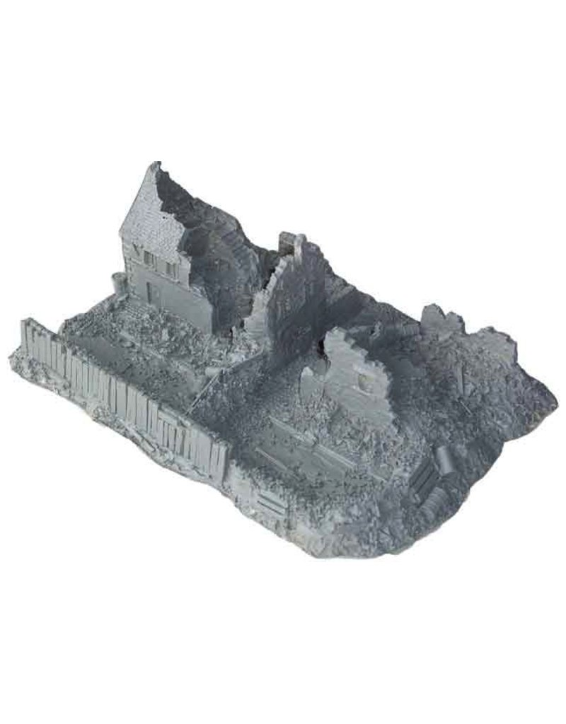 JR Miniatures 15mm Terrain: (Stalingrad) The Commissar's House