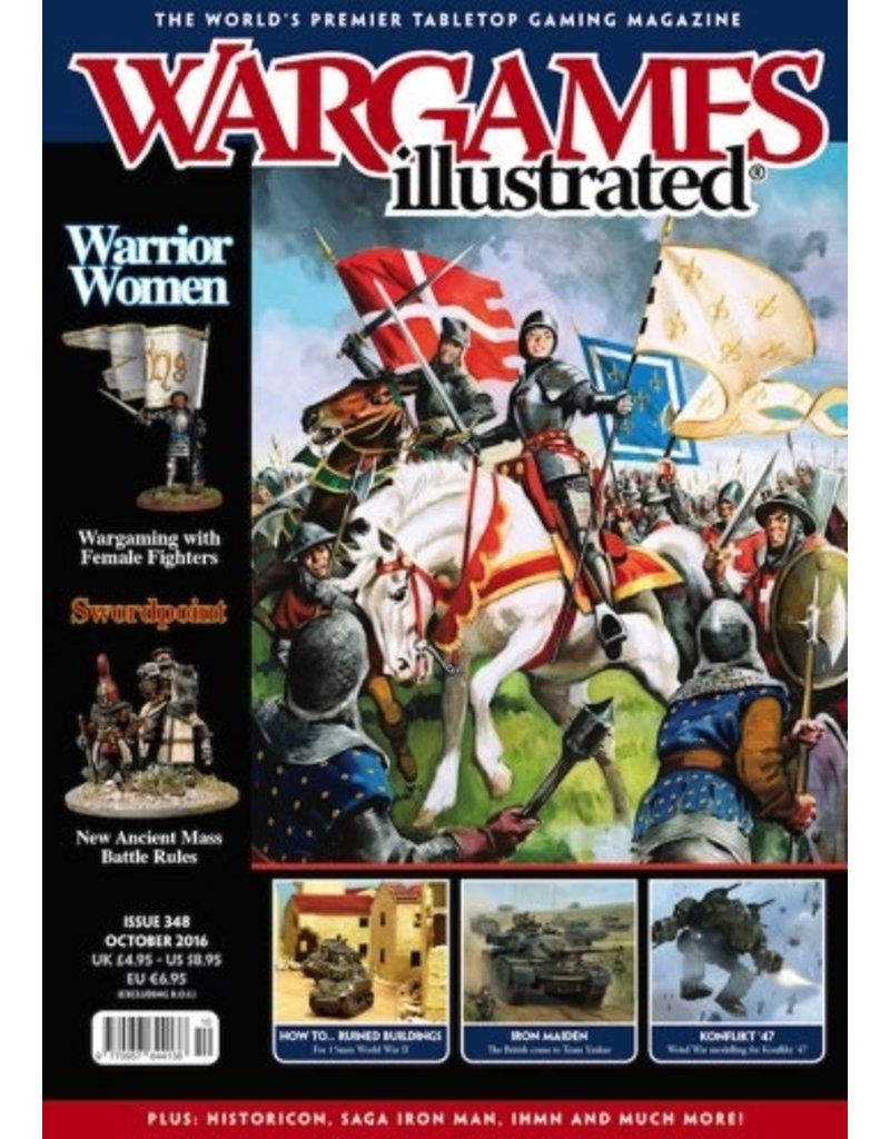 Wargames Illustrated Wargames Illustrated: Issue 348: October 2016