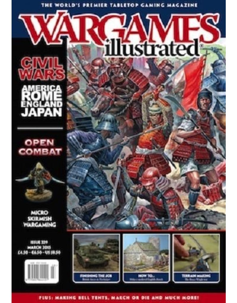Wargames Illustrated Wargames Illustrated: Issue 329: March 2015