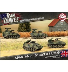 Flames of War TBBX04 Spartan or Striker Troop (Plastic)