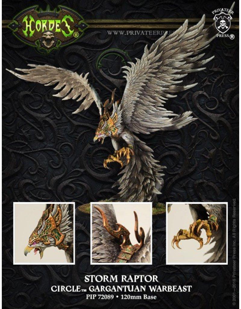 Warmachine Hordes\ PIP72089 Circle: Storm Raptor GargantuanMSRP: $109.99