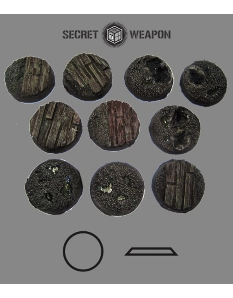 Secret Weapon Miniatures Beveled Edge: 25mm Trench Works (10)BTW2501