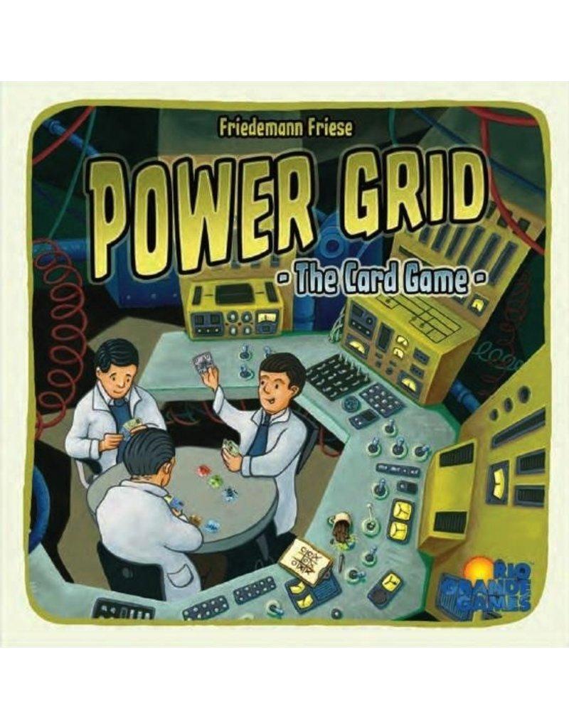 Rio Grande Games Power Grid: The Card Game
