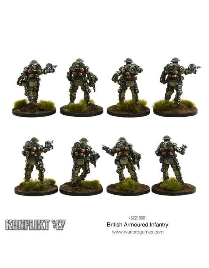Warlord Games British Armoured Infantry Section